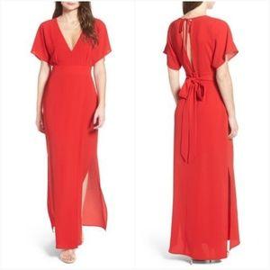 Wayf Carrara Dolman Side Slit Dress Sz M